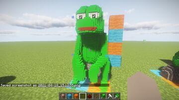 Sad pepe Minecraft Map & Project
