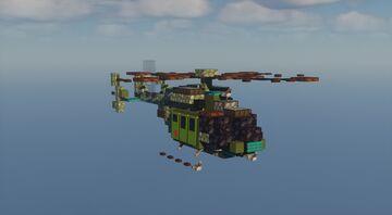 UH-72 Lakota - 1.5:1 Scale Minecraft Map & Project