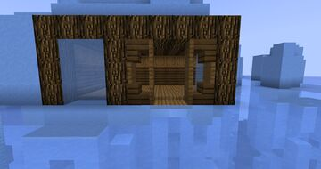 Ice Starter Base Minecraft Map & Project