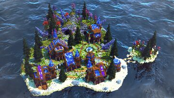 Crystal Island FREE DOWNLOAD/CHECK DESCRIPTION/Spawn/PVP Arena/HCF Minecraft Map & Project