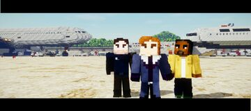 Airport | zemo | Falcon | Bucky【Falcon and Winter Soldier】 Minecraft Map & Project