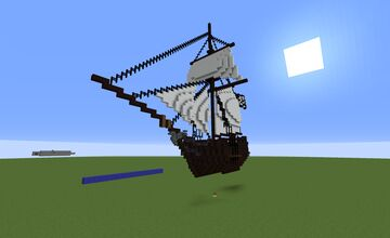 Pirates of the Caribbean: Dead Men Tell No Tales - Dying gulls Minecraft Map & Project