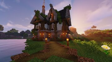 Aesthetic 1.17.1 Cottage Minecraft Map & Project