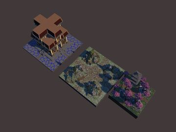 PACK DE SPAWN HCF Minecraft Map & Project