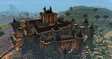 Koberyn Castle (Conquest reforged) Minecraft Map & Project