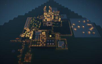 CREEPER CITY Minecraft Map & Project