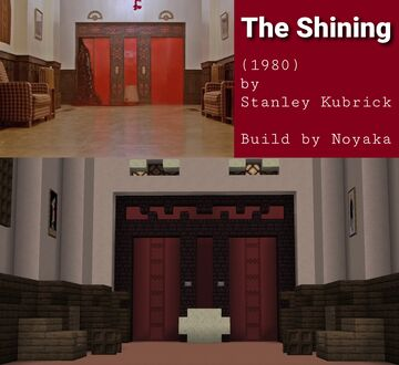 The Shining - The Elevator 🪓 Minecraft Map & Project