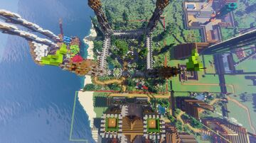 FreeBuild Spawn Minecraft Map & Project