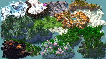 Candy Color - 1000x1000 | Landscape Map 1.16 Minecraft Map & Project