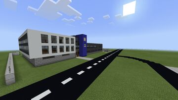 UK Police Station (North Wales Police) Minecraft Map & Project