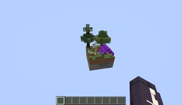 Skyblock demo Minecraft Map & Project
