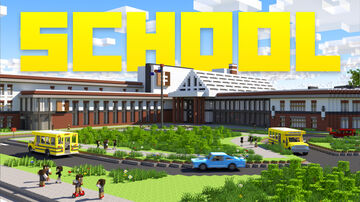 School - Roleplay | Avalable now on the Minecraft Marketplace! Minecraft Map & Project