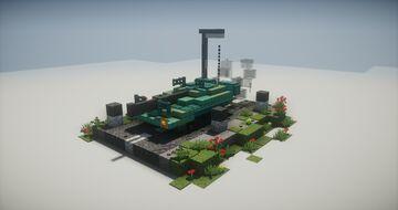 Swedish Strv 103A Minecraft Map & Project