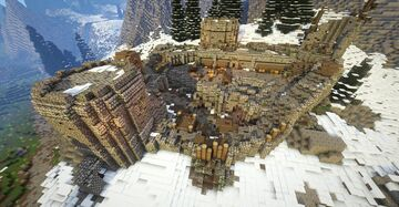 Morvunskar, fort (Skyrim TES) Minecraft Map & Project