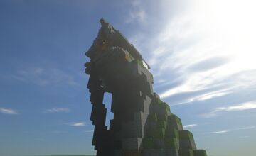 Cliffside Mountain Home Minecraft Map & Project