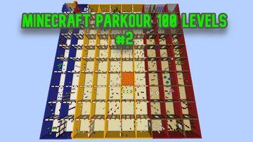 Minecraft Parkour 100 Levels 2! Minecraft Map & Project