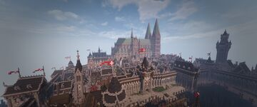 Eickelburg - The City Minecraft Map & Project