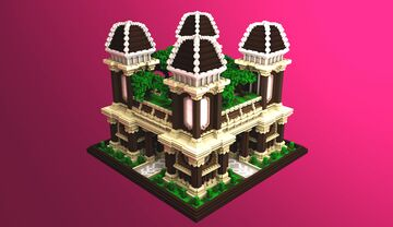 MIRAGE | Faction Spawn Minecraft Map & Project