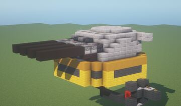 ADT  -  Heavy TNT Cannon ( Adjustable Arc | Movecraft Compatible | Turret ) Minecraft Map & Project