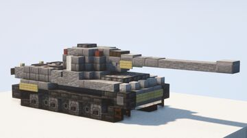 Panzer VII Löwe superheavy tank - 1.5:1 scale Minecraft Map & Project