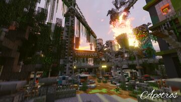 Apocalyptic Lobby Minecraft Map & Project