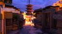 Yasaka-no-to Pagoda (Hōkan-ji Temple 法観寺), Kyoto in Minecraft 1:1 (BuildTheEarth) Minecraft Map & Project