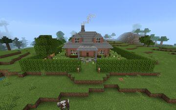 Brick house by darkmazeblox Minecraft Map & Project