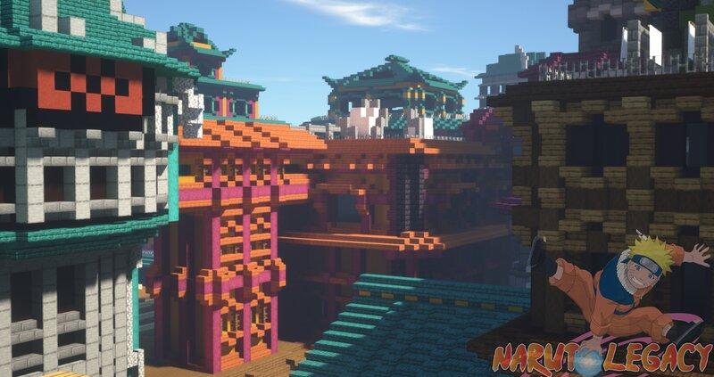 Konohagakure Skyline