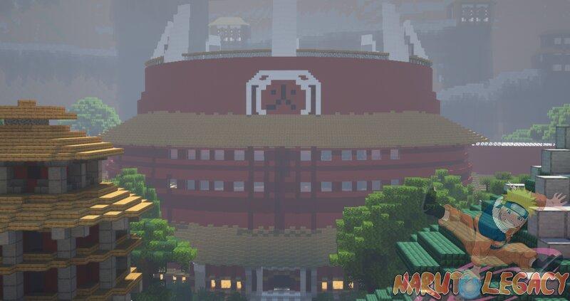 Konohagakure Hokage Mansion