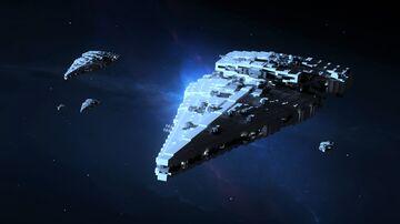 Lathon-class Patrol Cruiser Minecraft Map & Project