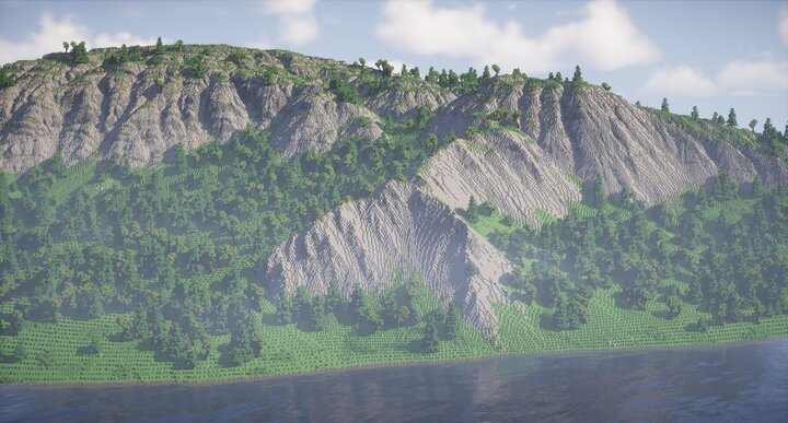 Popular Server Map : Nordia - Finno-Arctica Mountain Valley w/ Forest 2000x2000 (Summer)
