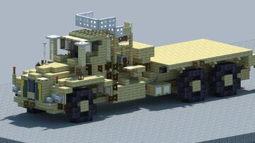 Berliet t100 Offroad truck [With Download] Minecraft Map & Project