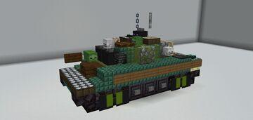 M551 Sheridan Minecraft Map & Project