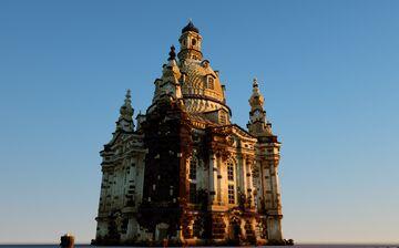 Frauenkirche, Drezno Minecraft Map & Project