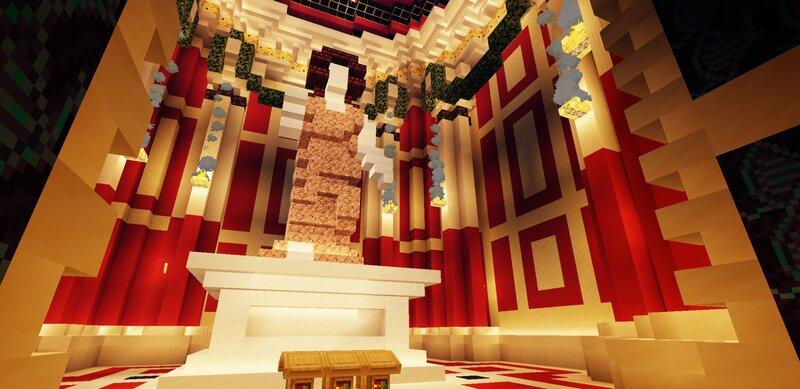 Interior of Second Temple