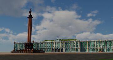 Saint Petersburg 1 to 1 scale BTE TeamCIS | Санкт-Петербург в масштабе 1 к 1 BTE TeamCIS Minecraft Map & Project