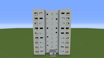Pripyat block Проспект Ленина 1Б Minecraft Map & Project