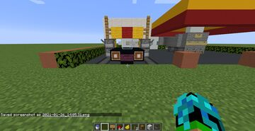 Shell Gas Station with Car Wash (working on progress) Minecraft Map & Project