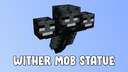 Wither Mob Statue Minecraft Map & Project
