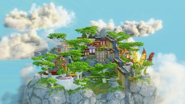 FREE - Skyblock Spawn - CountrySide Minecraft Map & Project