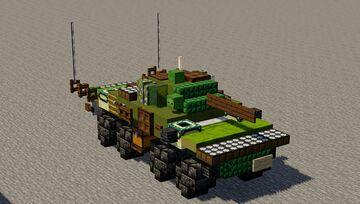 Spähpanzer Luchs Minecraft Map & Project
