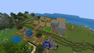 acuabell 5.0 Actualizacion de la decoracion de acuabell Minecraft Map & Project