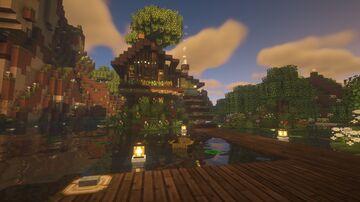 the novelist's retreat Minecraft Map & Project