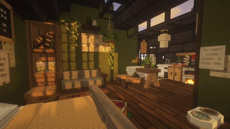 the small interior