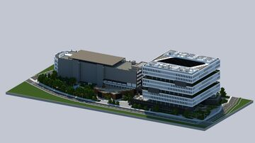 Samsung HQ | San Jose Silicon Valley Minecraft Map & Project