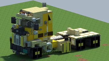 Mack H63, Truck [With Download] Minecraft Map & Project