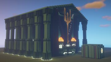 Poseidons Vault - the inescapable Prison! Minecraft Map & Project