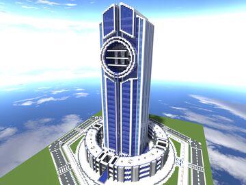 Quartz Tower #22 Minecraft Map & Project