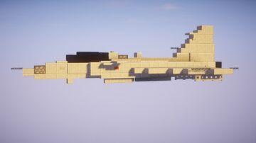 1,5:1 SAAB Jas 39 Gripen C Minecraft Map & Project