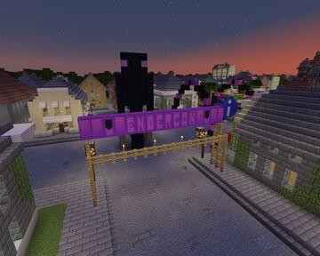 Minecraft Story Mode: Endercon Rebuild TomPreston Minecraft Map & Project